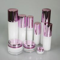 skin care bottle acrylic cosmetic container,recycled cosmetic packaging