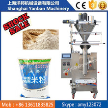 Shanghai YB-300F flour pouch packing machine/250g milk powder sealing filling machine