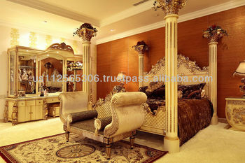 russia style carved bedroom set,classic bedroom set,carved bedroom furniture,antique furniture,wood carving bedroom furniture