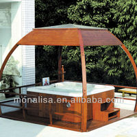 Monalisa Outdoor Luxury Plastic Gazebo Luxury