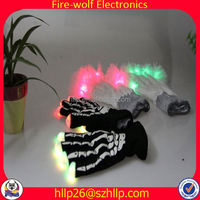 High Quality Luminous White Gloves Black Light Manufacturer