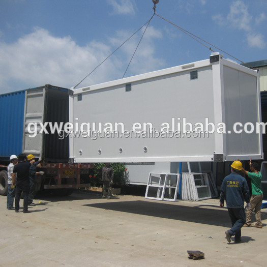 Alibaba portable container toilet