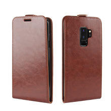 R64 Grain Leather Skin TPU Soft Gel Back Phone Case For Samsung Galaxy S9 S9plus