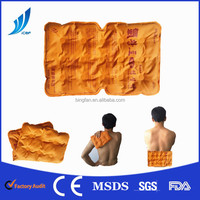 New product Anti -fluidity Gel reusable soft microwave Nylon+PVC material hot cold pack for human pain relief