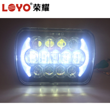 "truck 105W 5x7inch led headlight 5x7"" led headlight truck hi low truck head light rectangle sealed beam"