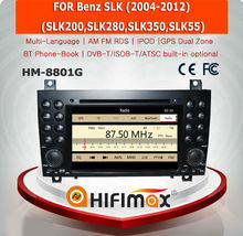 HIFIMAX WIN CE 6.0 Car DVD Player For Mercedes Benz SLK 171 2004-2012 Car DVD GPS Navigation System