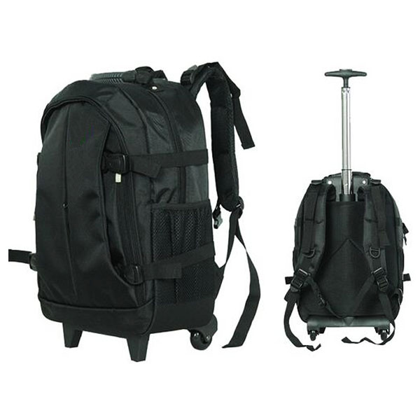 Convenient Detachable Trolley Travel Backpack With Wheels