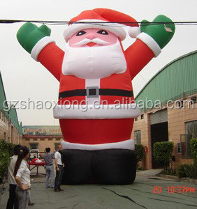 Cheap inflatable Christmas decoration, inflatable Santa Claus, Santa Claus inflatable model
