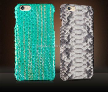 Handmade Real Python Skin Mobile Phone Case