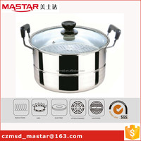 large size cookware sets stainless steel food steamer