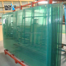 Hot sale 3-19mm Clear or colored tempered glass for oven door
