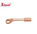 Non Sparking Non Magnetic Beryllium Copper And Aluminium Bronze Hand Tools Offset Slogging Box Wrench With American Type
