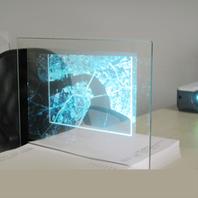 Adhesive rear projection film/3d holographic projection /projector screen