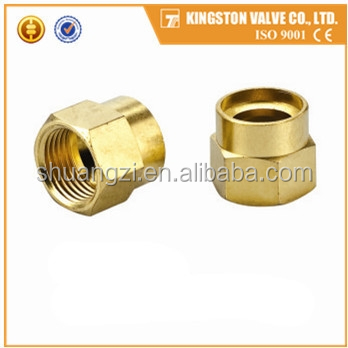 T505 brass or iron flare fitting