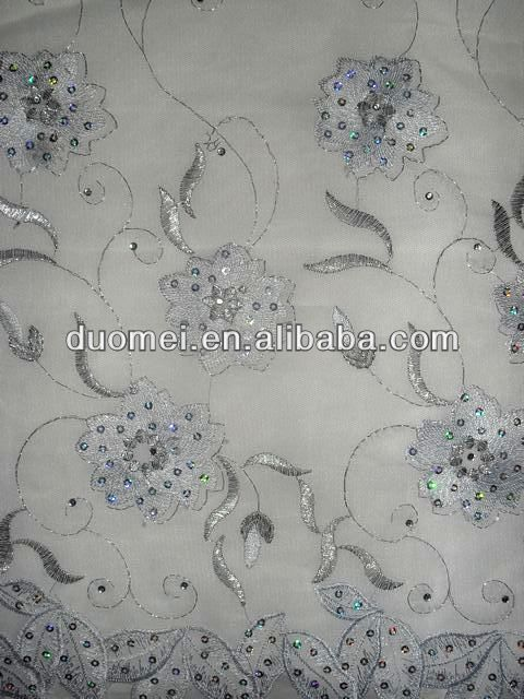 P2198 wholesale taffeta mesh french net chicken fabric for wedding dress