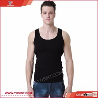 Professional OEM manufacturer made in China mens stringer tank top