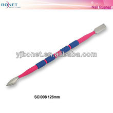 SCI008 nail cuticle pusher nail cleaner