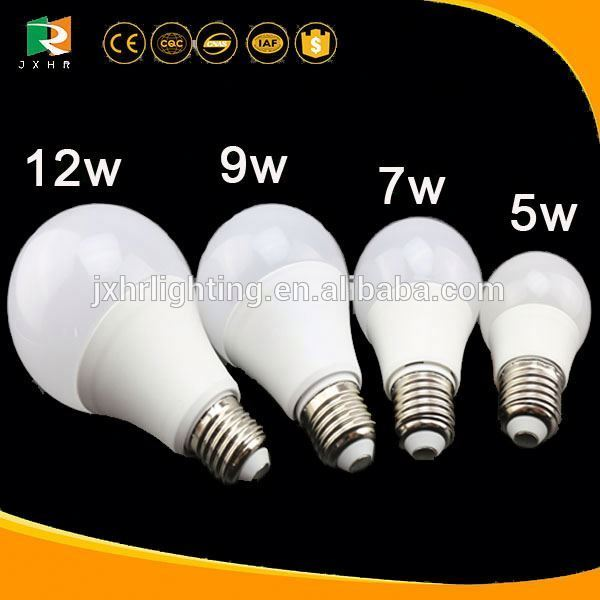 CE ROHS made in china 5000 lumen led bulb light e27 b22 pf>0.9