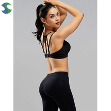 Hot sell fashionable sexy gym sports wear crane running sports bra