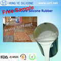 RTV mold making liquid silicone for plaster mold