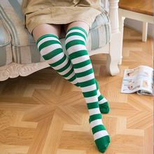 Hot-sales girl knitted long sock Amazing Cotton adult long Socks made in china