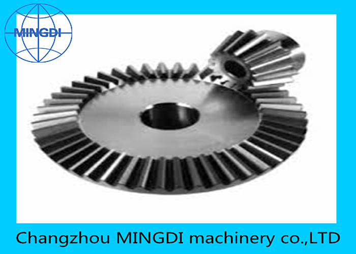 OEM heat treatment teeth grinding helical tooth Spiral bevel gear