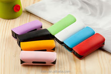 Nice desing gift 2200 mah power bank with led torch