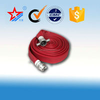 high quality fire hose with coupling, all kinds of couplings