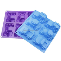 Different car shaped silicone handmade soap mold
