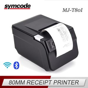 High speed wifi bluetooth Multiple interfaces pos thermal printer 80mm thermal receipt printer