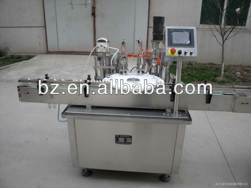 automatic Electronic cigarette filling and capping machine