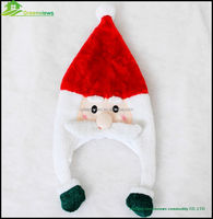 Promotional Christmas santa claus hat printing Christmas gifts cheap products Felt Santa Christmas Decoration Hat BGSY1029