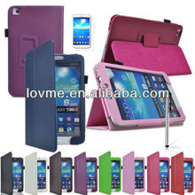 New Leather Smart Case Cover for Samsung Galaxy Tab 3 T310 T311 T315 8 Inch Tablet