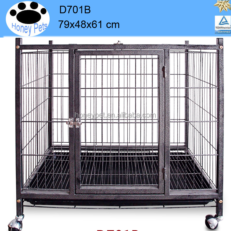 High quality Square tube large steel dog cage