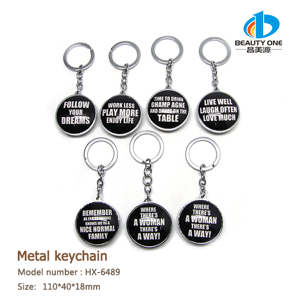HX-6489 compass car brand keychain with camera 808