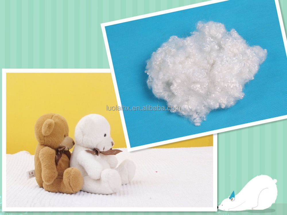 white polyester stuffing wholesale staple fiber for best price and service