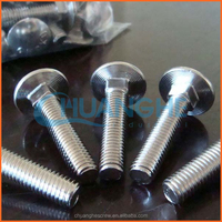 China factory supply u-bolts with nuts pipe clamp/carriage bolt