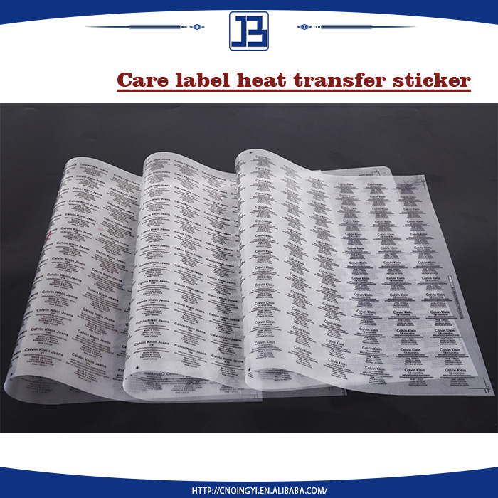 JiaBao wholesaler care label material for garment