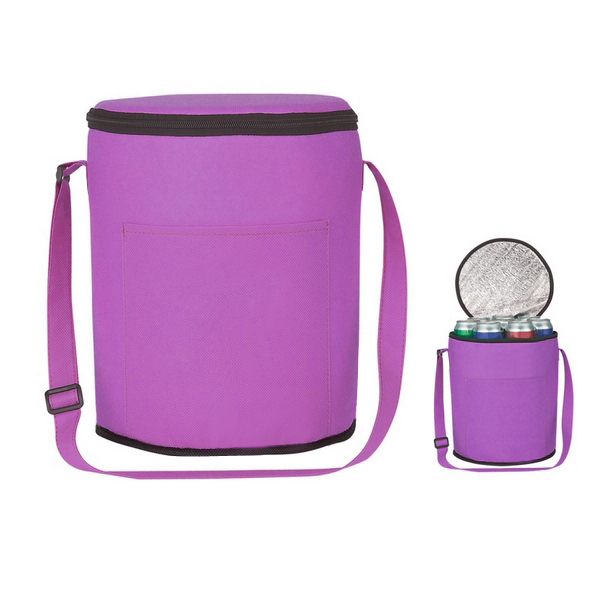 Hottest nonwoven picnic cooler bag/can cooler bag/wine cooler bag