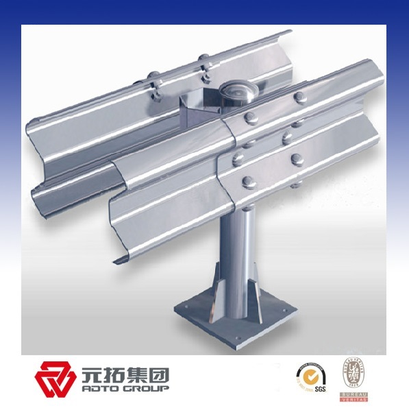 Hot galvanized/painted steel highway guardrail plate made in China