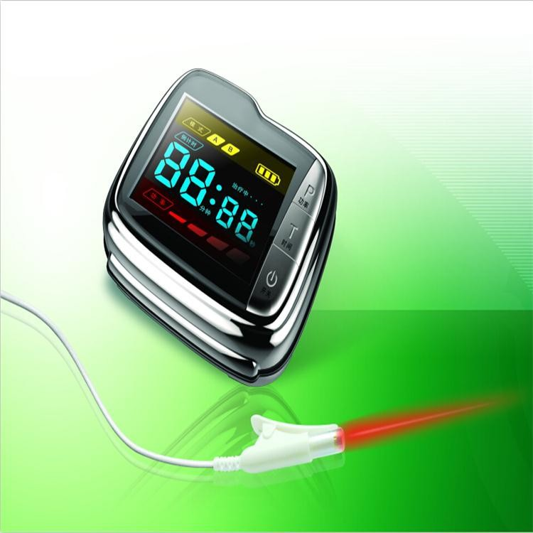Chinese factory supplier provide medical acupuncture wrist type high blood pressure laser therapy device