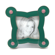 HX-2025 4x6 Butterfly Glass Wall Hanging Photo Frame