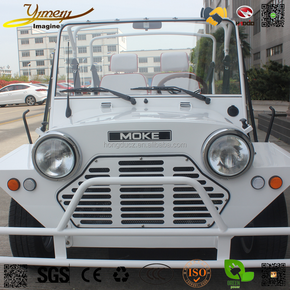Hot sale 4wd electric sightseeing Jeep 4 sets suv 4 wheel vehicle golf cart wholesale vehicle