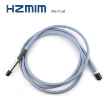 Rigid endoscopic light source fiber optical cable, medical guide cable