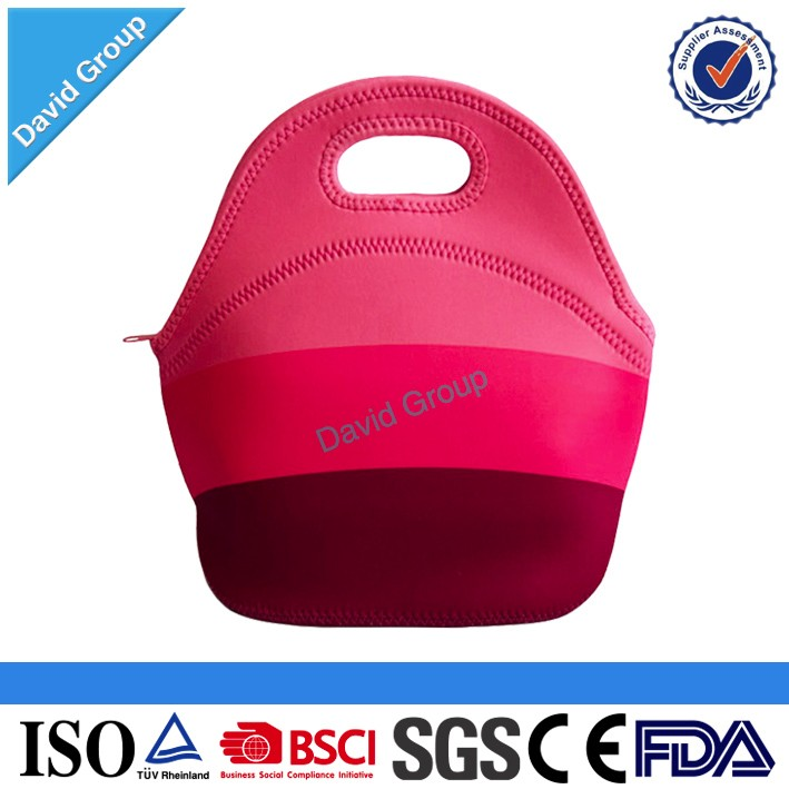 High Quality Wholesale Hot selling!!! insulated Neoprene kids lunch bag