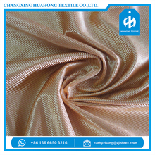 Polyester tricot dazzle fabric for turkish short gown