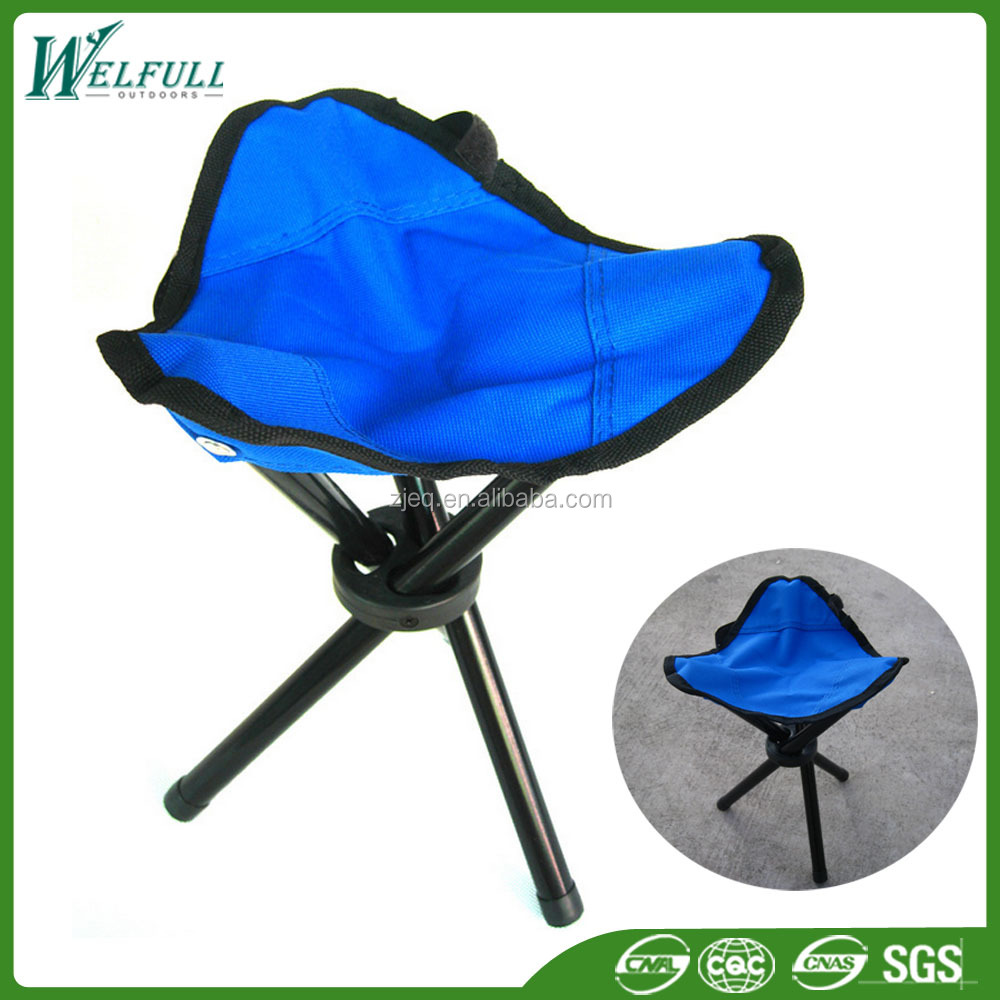 Wholesale Oxfrod Three Legs Folding Camping Stool/Chair