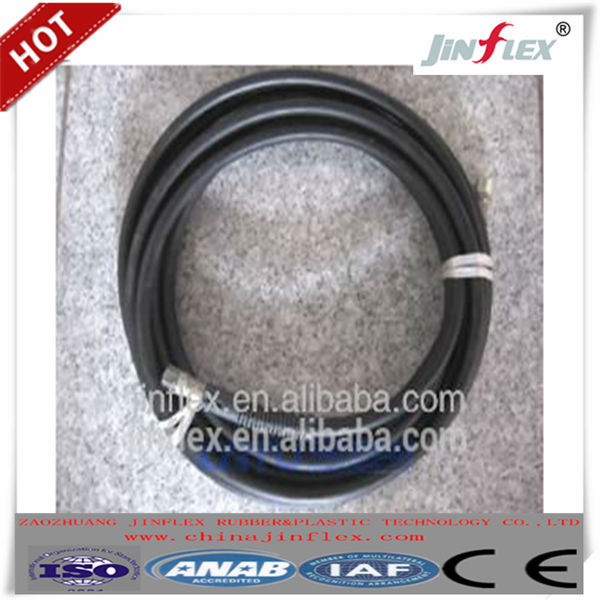 hydraulic rubber hose and fittings (brand name chinajinflex)