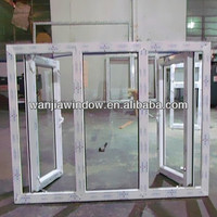 Hot sale waterproof plastic glass window