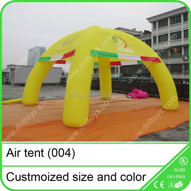 Waterproof air tent tubes for event